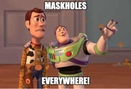 Maskholes Everywhere!