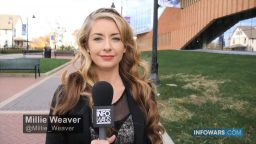 InfoWars Reporter Millie Weaver Arrested Before Breaking Major News