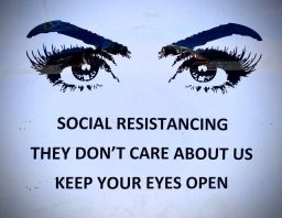 Please Practice Social Resistancing